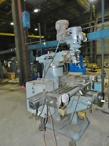 Bridgeport 9 X 42 Milling Machine 2hp