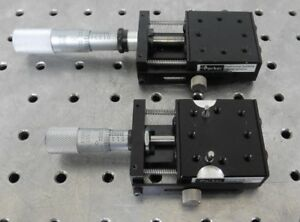 C154306 Lot 2 Parker Daedal Micrometer Linear Positioning Stage 21mm