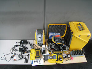 Trimble S6 Dr 300 Robotic Total Station Tsc2 Data Collector Survey