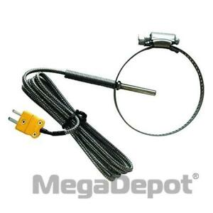 General Tools Tpkpp High temperature Type k Pipe Clamp Thermocouple Probe