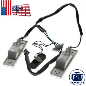 Rear Trunk Release Switch Licence Plate Lamp For 2011 Chevy Cruze 1 4l 1 8l