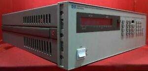Hp agilent keysight 6625a Precision Dual Dc Power Supply 1x 0 50v 500ma