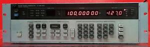 Hp Agilent 8656b 002 Synthesized Signal Generator 0 1 To 990 Mhz Sn at6939