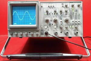 Tektronix 2245a 100 Mhz 4 Channel Dual Time Base Oscilloscope Sn b033739