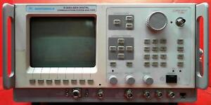Motorola R2660c Wireless Communications Analyzer Sn 496kyw0018