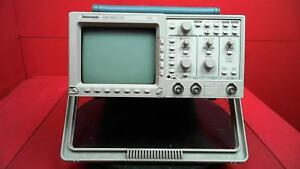 Tektronix Tds310 2 Channel 50mhz Oscilloscope For Parts Or Repair