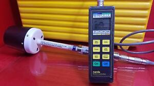 Narda 8712 Survey Meter With A8742d Field Probe In Case S n 22024