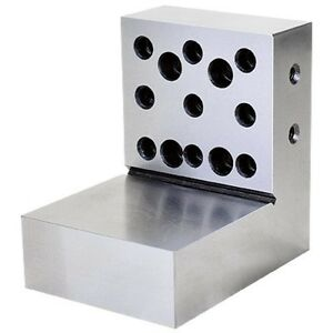 4 X 4 X 3 X 1 1 8 Steel Right Angle Plate 3402 0443 new Ds