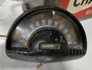 1949 50 Oldsmobile Instrument gauge Cluster Great For Rat Rod Hot Rod