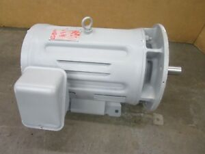 Toshiba Tkkh 20hp Induction Motor 460v 3ph 1800rpm 160l Frame