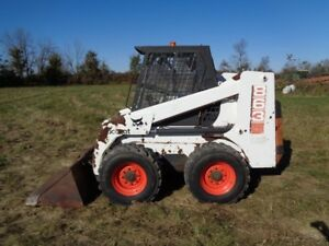 1996 Bobcat 863 Skid Steer Loader Orops Sticks pedals