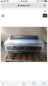 Star Max 36 Thermostatic Controlled Gas Griddle