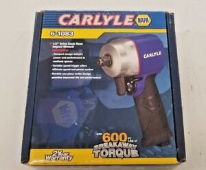 Carlyle By Napa 6 1083 1 2 Dr Snub Nose Impact Wrench