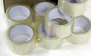 Clear Box Packing Shipping Tape X 110 Yards Tape Para Cajas12 Rolls Of 2 Inch