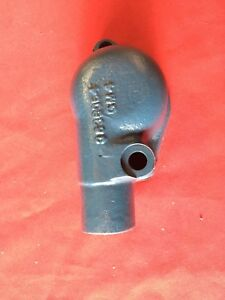 1953 Chevrolet Corvette Water 6 Cyl Thermostat Housing Repro Pt 3836054 Gm1