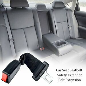 25cm 9 84inch Car Seat Seatbelt Safety Belt Extender Extension 2 1cm Buckle