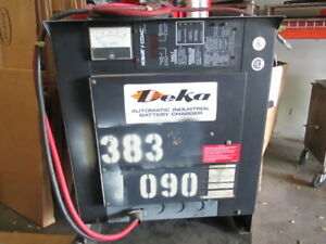 Deka 24v Electric Forklift Battery Charger 450ah 8hr 208 240 480 3ph Customized