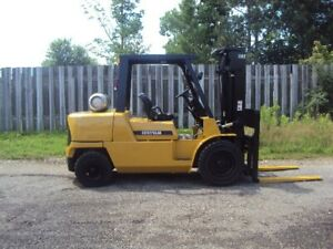 Caterpillar Gp50k Lpg 11000lb Forklift W Sideshift Fork Positioner 159 Height