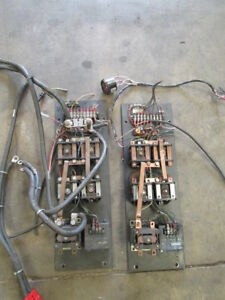 2 Crown 40wtl Walk Behind 24v Walkie Stacker Electrical Contactor Panels