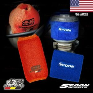 Mugen Spoon Oil Reservoir Tank Fireproof Sock Cover For Honda Acura Universal