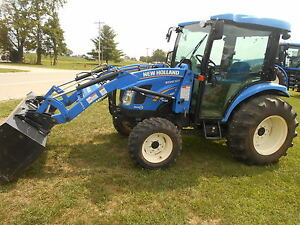 2014 New Holland Boomer 3050 Fwa New Holland 250tl Loader 97 Hours
