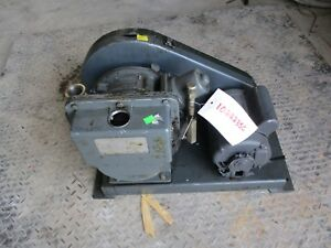 The Welch Company Duo seal Vacuum Pump With Motor 1022235c used