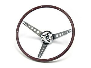 1967 Ford Mustang Simulated Wood Steering Wheel Assembly C7oz 3600 Nk New