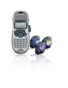 Portable Handheld Label Maker Printer Lcd Screen 2 Line Printing Auto Off Office
