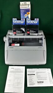 Brother Electronic Correctronic Typewriter Gx 6750 W Cover Ribbons Users Guide