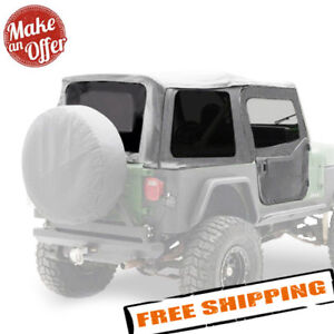Smittybilt Replacement Soft Top W Tinted Windows For 1988 1995 Jeep Wrangler Yj