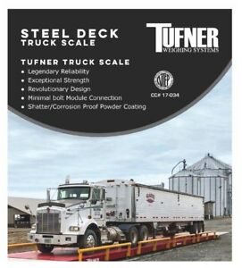 Truck vehicle Weighing Scale With Scoreboard Printer Tufner