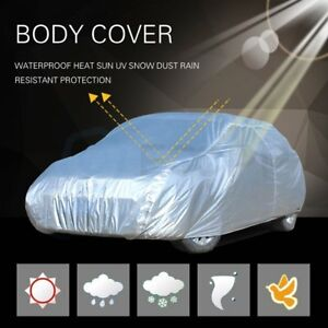 Large Universal Outdoor Waterproof Heatproof Car Cover Up To 185 Length