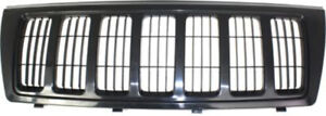 Cpp Black Grill Assembly For 2004 Jeep Grand Cherokee Grille