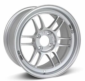 Enkei 3796804938sp Rpf1 Wheel 16x8 4x100 38mm Offset 73mm Bore Silver