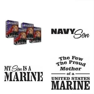 Army Navy Wall Stickers Murals Marines Military Vector Clipart Vinyl Cutter