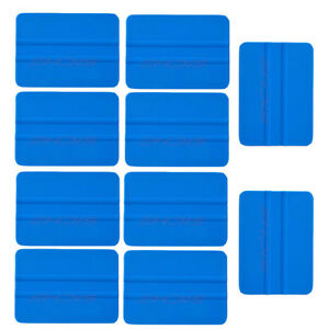 100 200 Pcs Vinyl Avery Felt Squeegee Flexible Pp Blue Sign Making Wrap Tools Uk
