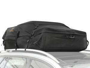 Car Roof Bag Top Cargo Carrier 30 Cubic Feet Water Resistance Soft Cargo Box