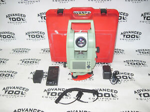 Leica Tcr403 Reflectorless Total Station Dual Display Transit Level