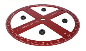 Competition Cams 4791 1 Pro Camshaft Professional Degree Wheel