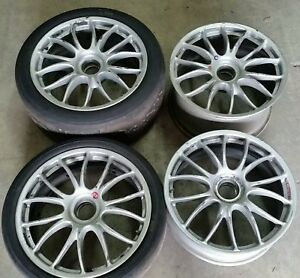 Ferrari 360 430 F430 Center Lock Challenge Oem Bbs Wheels Rims 8x19f 10 5x19r