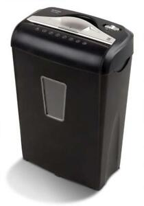 Electric Paper Shredder Credit Card Destroy 8sheet Micro Cut Auto Shutoff Office