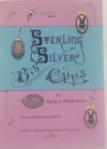 Sterling Silver Bib Clips A Book For The Baby Infant Children S Collectors
