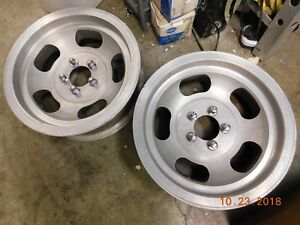 Rare Ansen 15 X 5 5 Slot Mag Wheels 5 On 4 Dart Barracuda Mopar Plymouth Duster