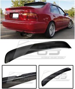 Eos Ferio Style Fiberglass Rear Trunk Lip Wing Spoiler For 92 95 Civic Eg9 Sedan