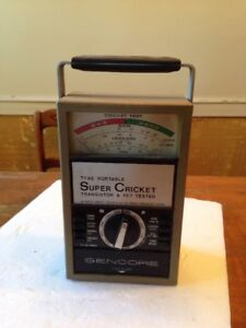Sencore Super Cricket Model Tf46 Transistor And Fet Tester