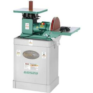 G0529 Oscillating Spindle 12 Disc Sander