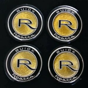 Buick Reatta Oem Center Cap Emblems Nos Set Of 4