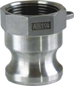 Camlock Fitting Type A 6 Inch Male Camlock X Female Npt Stainless Steel 316