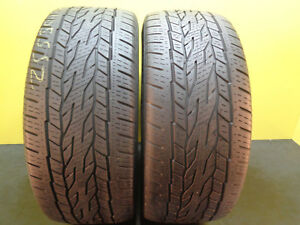 2 Tire Continental Crosscontact Eco Plus Lx20 255 50 19 107h 68 Life 16939