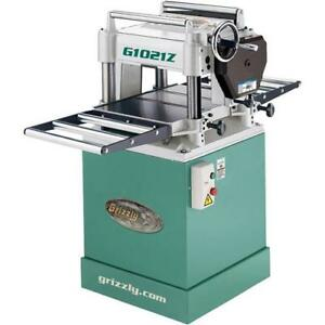 G1021z 15 Planer W Cabinet Stand